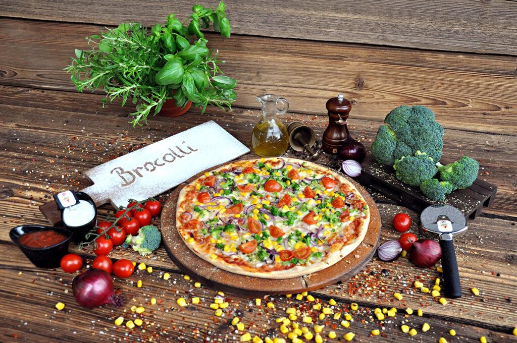 Pizza Brocolli