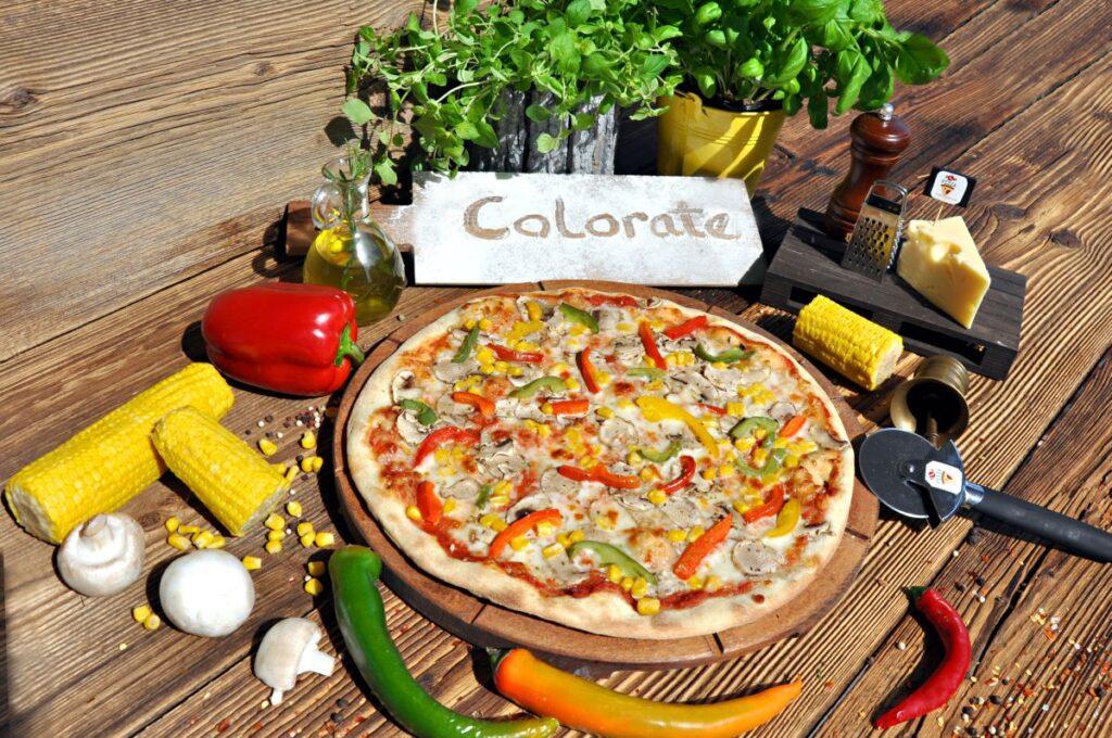 Pizza Colorate
