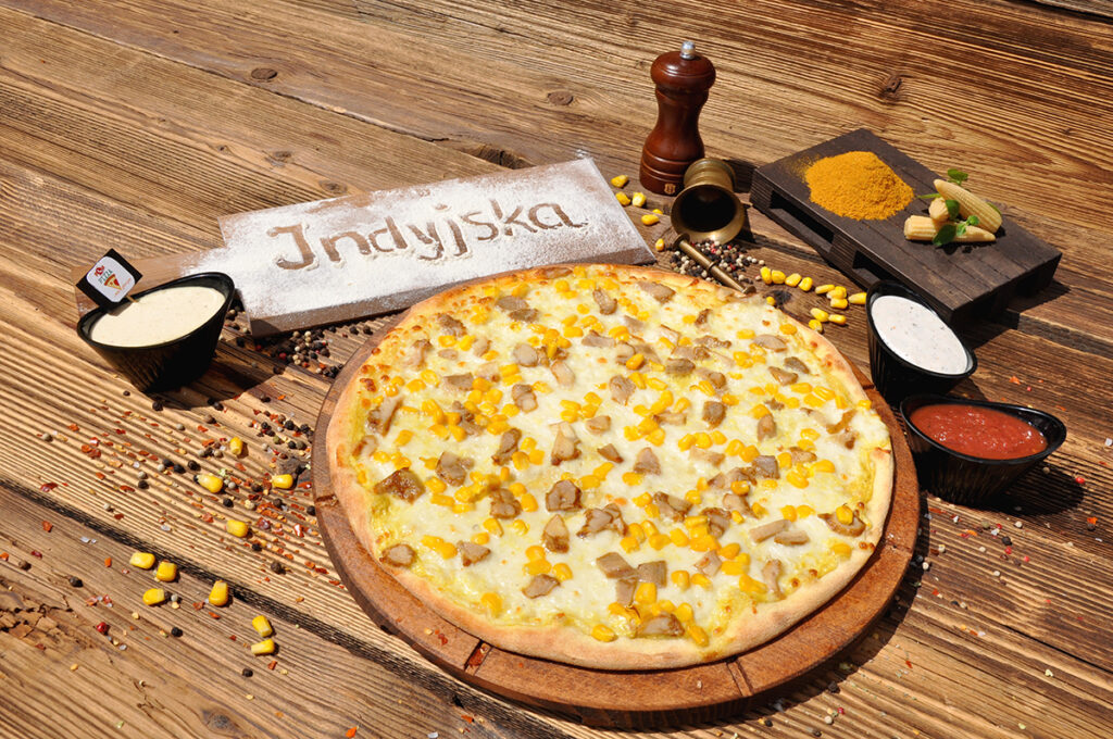Pizza Indyjska