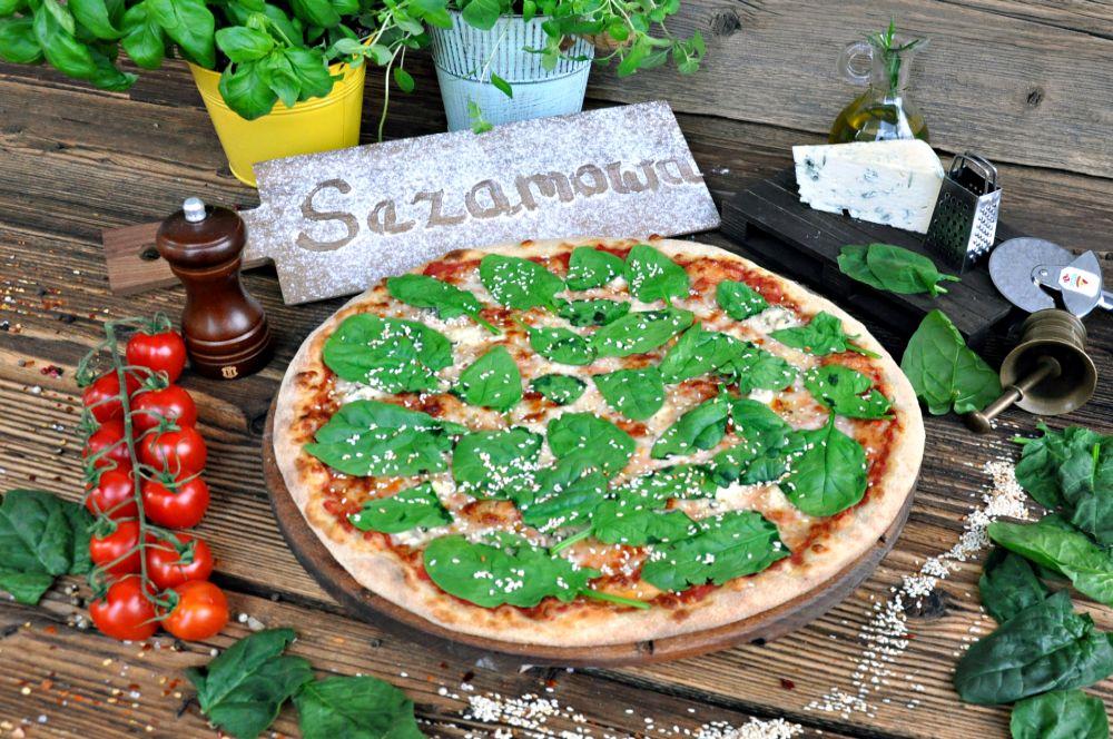 Pizza Sezamowa